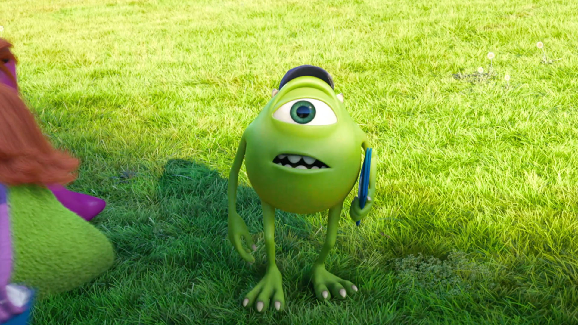 Young Mike Wasowski in Monsters University
