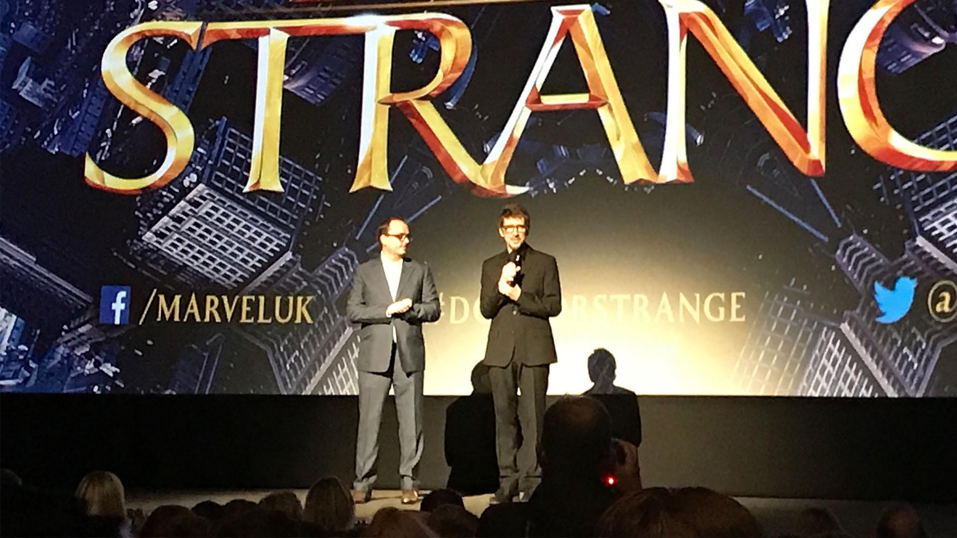 Scott Derrikson at the UK Premiere of Doctor Strange