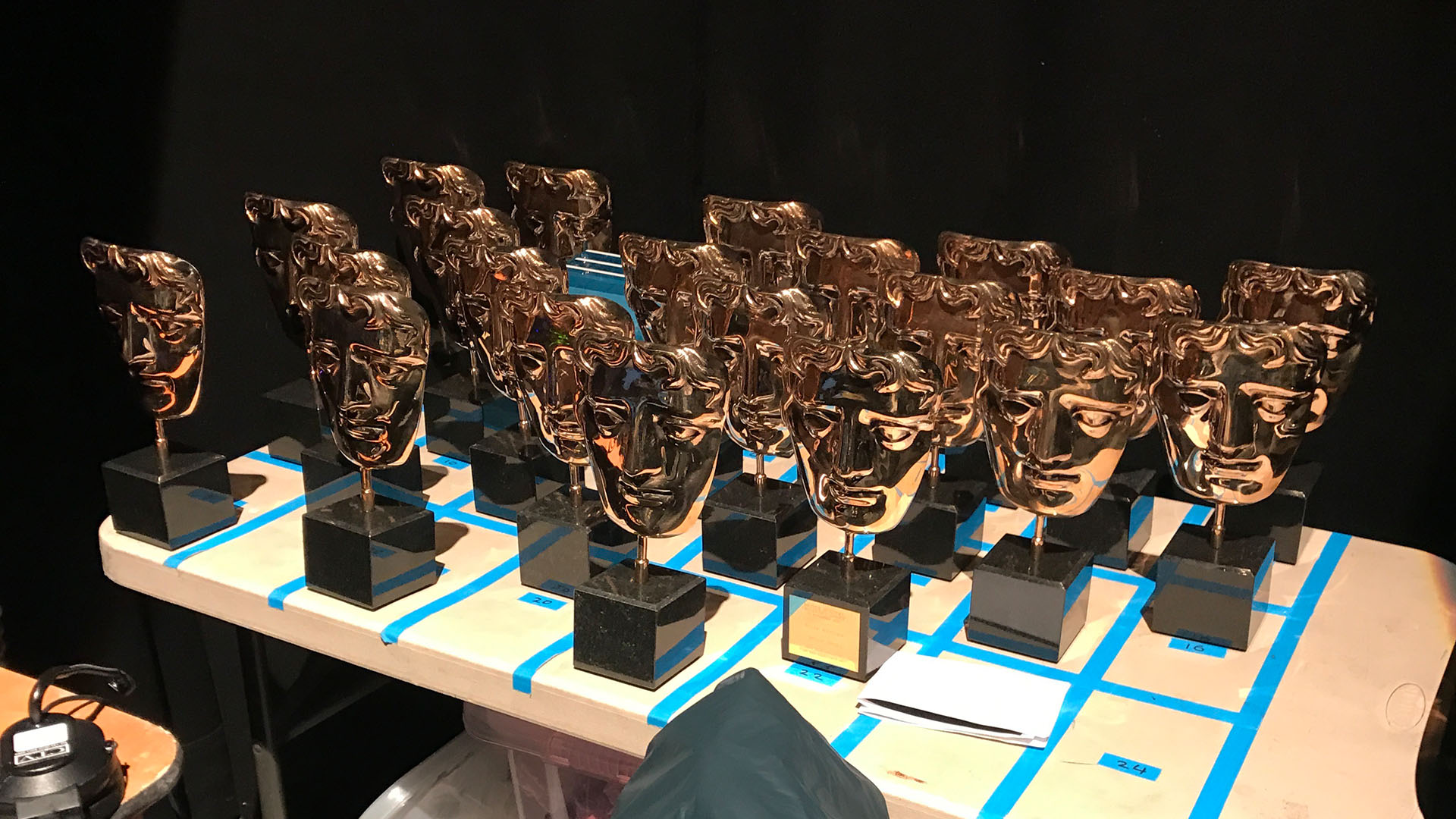BAFTA's lined up and ready - Children's Awards 2016