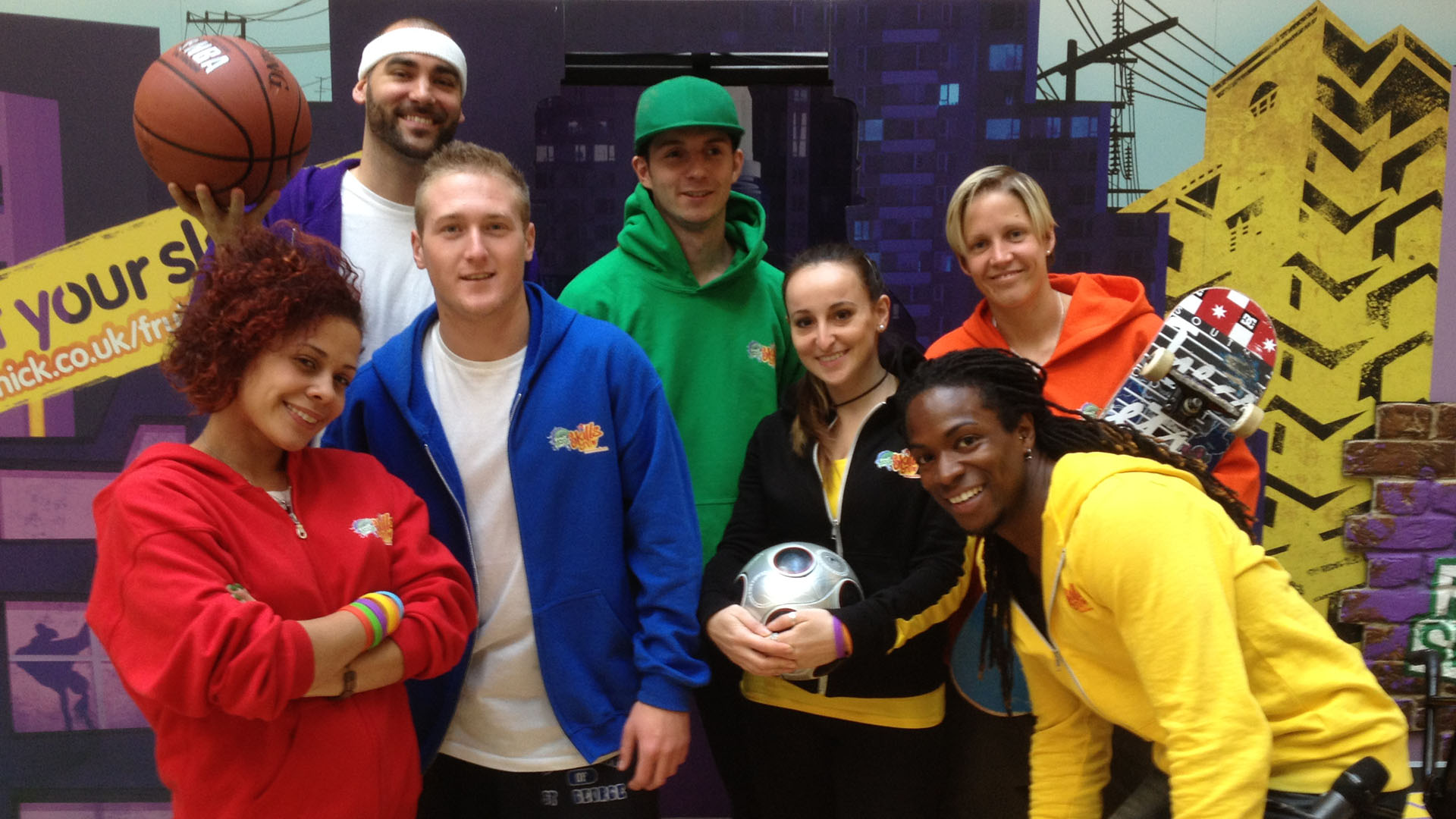 Fruit Shoot Skills Crew 2013 -, BGirl Roxy, Taryn, Connor Stringer, Matti Hemmings,  Laura Biondo, Nigel Clarke, Lucy Adams