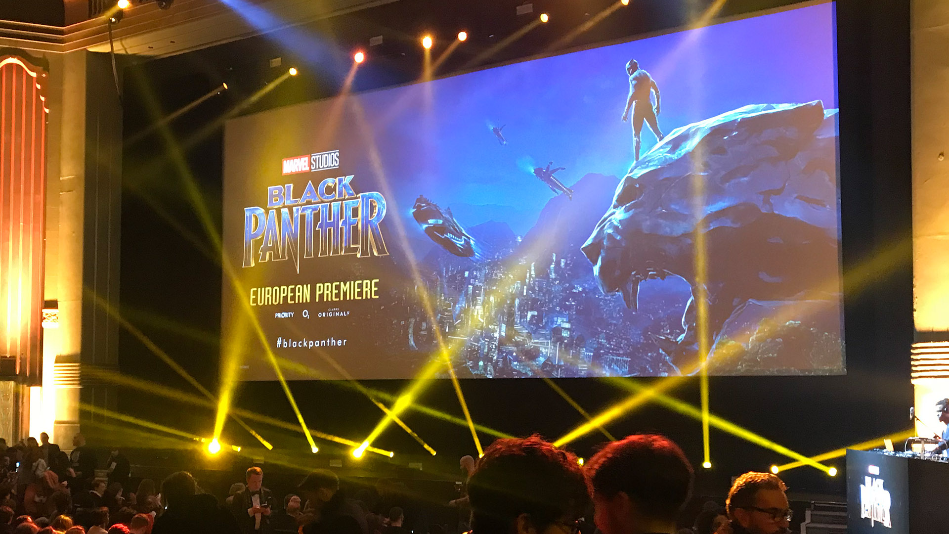 Black Panther European Premiere - Eventim Apollo, Hammersmith, London