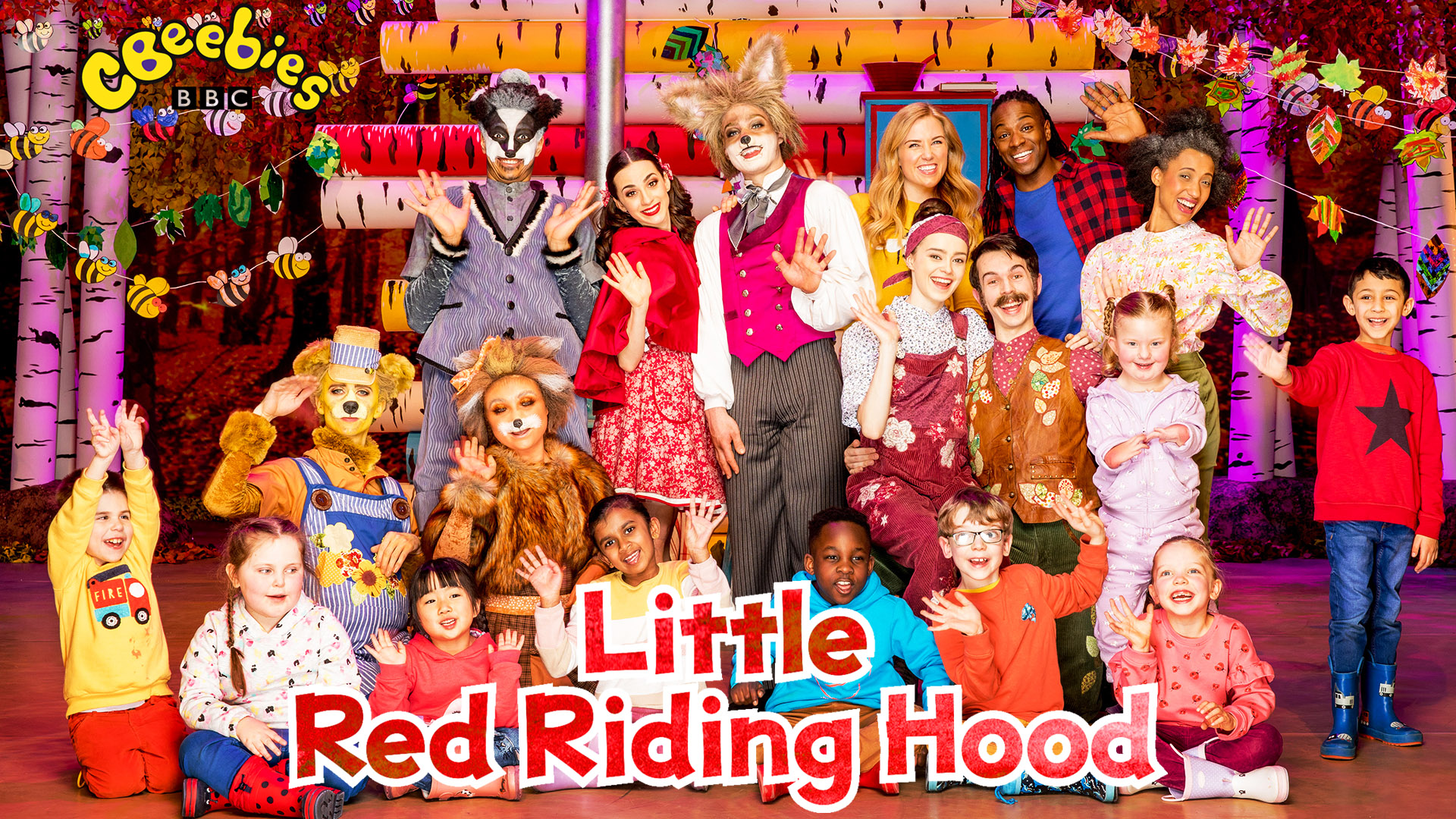 CBeebies Ballet - Little Red Riding - Full Cast Promotional Photo